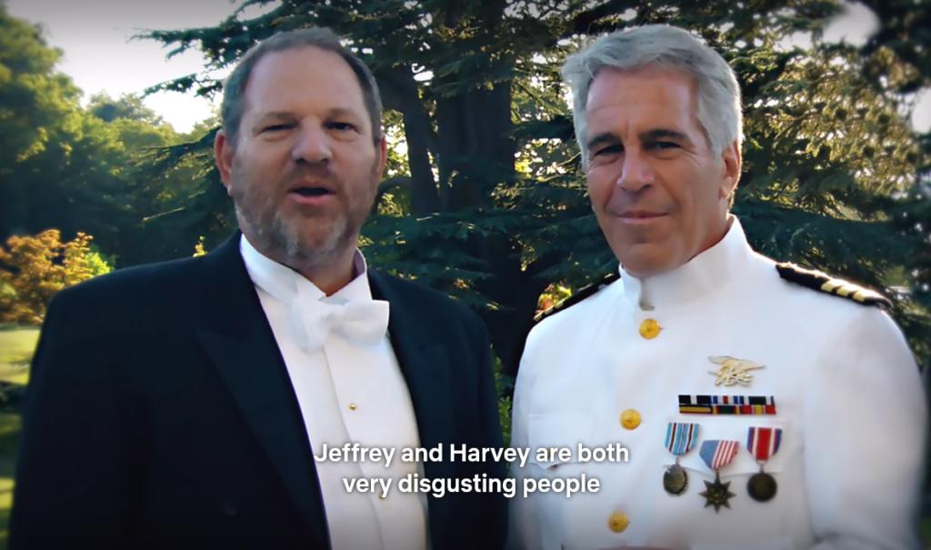 seksuele roofdieren Epstein en Weinstein