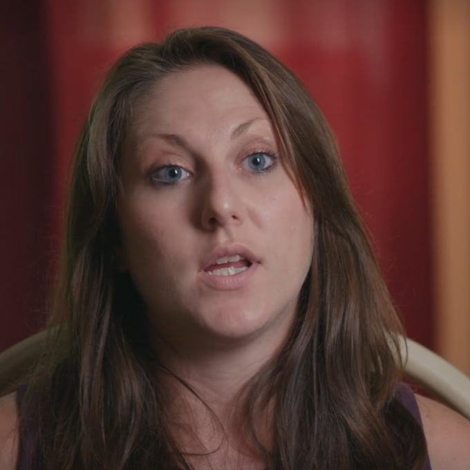 Michelle Licata (screenshot uit de docu)
